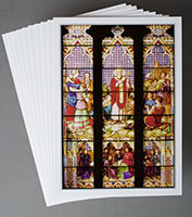 Portfolio Containing 10 Assorted 5x7 Postcard ImagesA