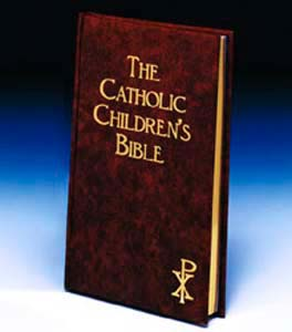 The Catholic Childrens Bible-Maroon-Hardcover