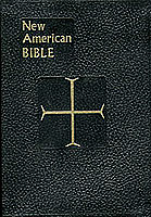 New American Bible St. Joseph's Edition-Black-Leather Softcover