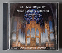 Great Organ of St. Patrick's Cathedral CD