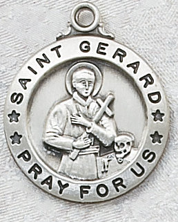 St gerard medal with chain aloadofball Image collections