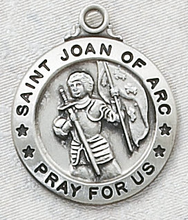 Ss st joan of arc medal with chain aloadofball Gallery