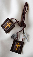 Cross of the Crusaders Athletes Scapular