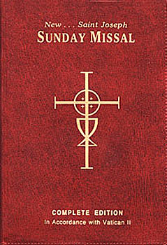 Sunday Missal St. Joseph's Edition-Leather Softcover